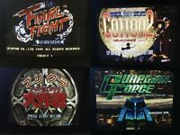 Sega ST-V STV MULTIGAMES ALL SHMUPS 8in1 Final Fight Revenge PD Arcade JAMMA PCB