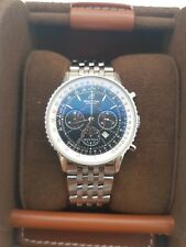 Gents Auto Breitling Navitimer Chronograph Montbrilliant Black Dial [A41370]