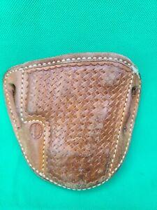 El Paso Saddlery Co. RH Belt Leather S&W 5906 Pistol Holster