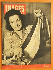 Images du Monde 23 du 12/6/1945-J.Sauvain repasse l'écharpe tric du maire Charpy
