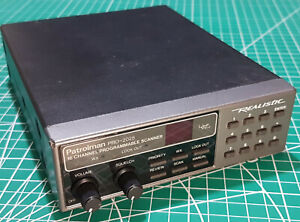 Realistic Patrolman Pro 2025 20-146 Scanner UHF VHF