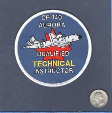 CP-140 AURORA P-3 ORION RCAF Canadian Air F Technical Instructor Squadron Patch