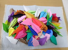 150 of  folded‐paper origami crane Japan gift Solid Color