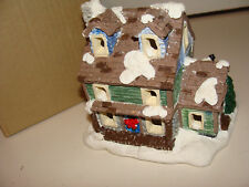 California Creations Christmas Village Hand Painted Ponderosa House SE 173