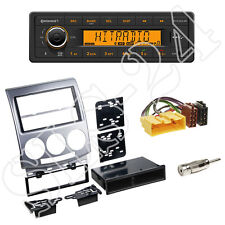 Continental TR7412UB-OR Radio + Mazda MX-5 (NC) 2005-2008 Blende + ISO Adapter
