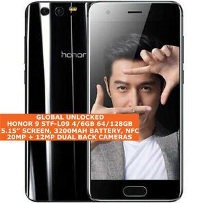 "HONOR 9 STF-L09 4/6gb 64/128gb Octa-Core 5.15"" Fingerprint Dual Sim Android 9.0"