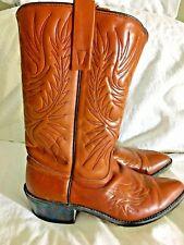 7 D Mens 4956 Acme Western Leather Boots 7 D Mens
