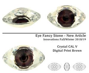 Genuine SWAROVSKI 4775 Eye 18mm Fancy Stones Crystals * Many Colors