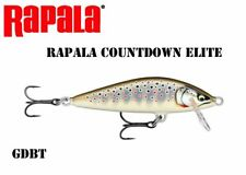 Rapala Countdown Elite Lure CDE75 length 7,5cm weight 10g Various Colors New