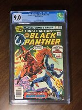Jungle Action 22 Featuring Black Panther Cgc 9.0