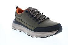 Skechers Delmont gunden 204203 мужские зеленые повседневные кроссовки, обувь