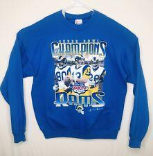 VTG St Louis Rams Super Bowl XXXIV Sweatshirt Mens Sz XL - 2000 LA Warner Faulk