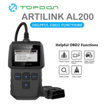 TOPDON AL200 OBD2 EOBD Code Reader Clear Fault Code Engine Check Light Scan Tool