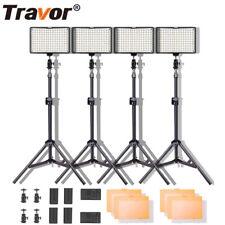 4PCS 160LED Video Lights Studio Shooting Photography Lighting Kit + Tripod Stand
