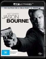 Jason Bourne 4K Ultra HD Blu-Ray NEW