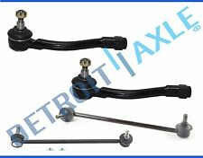 Brand New Front Outer Tie Rod End + Sway Bar Link for 2006 - 2011 Hyundai Accent