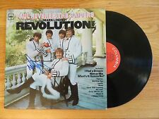 MARK LINDSAY signed PAUL REVERE & THE RAIDERS REVOLUTION 1967 Record / Album COA