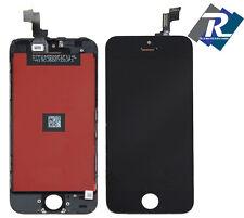 TOUCH SCREEN VETRO SCHERMO + LCD Display Assemblato PER iPhone 5S Nero