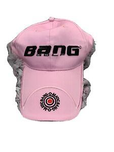 Bang Golf Pink Baseball Cap