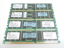 4x Samsung PC2100R-25331-Z 512MB DDR Memory Ram HP 261584