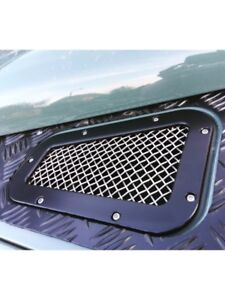 Land Rover Defender Wing Top Vents Inc Side Vent Stainless 90/110/130