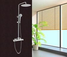 Colonna doccia saliscendi multifunzione con soffione miscelatore termostatico |2