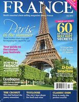 France Magazine July 2014 Paris In The Summer EX No ML 012517jhe