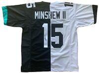 Gardner Minshew autographed signed jersey NFL Jacksonville Jaguars JSA COA