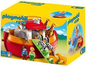 Playmobil 1.2.3 My Take Along Noah's Ark Playset