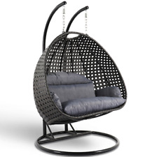 Unique Design Most Comfortable Double Seat Hanging Swing Chair with Cushion