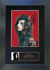 ANDY BIERSACK Signed Mounted Reproduction Autograph Photo Prints A4 530