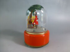 Vintage Circa 1960s Swiss Reuge Dancing Ballerina Music Box ( Watch The Video )