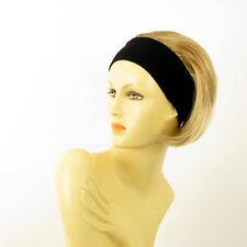 Stirnband Perücke kurze hellblonde Kupfer Docht blond klar ref: Amanda 27t613