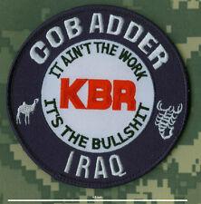 "KBR 4.5"" DEPLOYMENT SSI: Imam Ali Tallil Air Base ORTL Camp Adder Nasiriyah IRAQ"