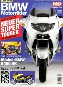 MO BMW Motorräder Nr. 04 + R 1150 RT + R 1150 R + R 75/5 + Sonderheft No. 4
