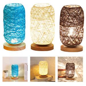 LED Table Lamp Bedside Desk Lamp Nightstand Lamp Bedroom Living Room DecoR