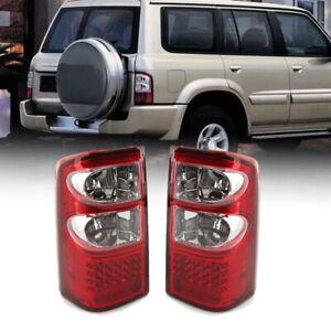 2Pcs Car LED Rear Tail Brake Light Fit For Nissan Patrol GU Series 1997-2004 ABS