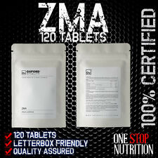 ZMA x 120 Tablets Zinc Magnesium Vitamin B6 Power Booster Muscle Growth Recovery