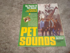 """The Beach Boys 1996 ads article for Pet Sounds """"30 Years of Good Vibrations!"""""""