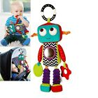 Baby Child Kid Mamas & Papas Soft Stuffed Plush Chime Rattle Robot Toy Doll 0+
