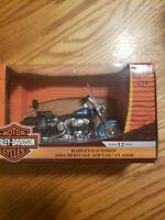 American Muscle Harley Davidson 2004 heritage softail Motorcycle Die Cast 1:18
