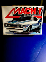 * MPC MACH 1 MUSTANG STREET MACHINE 1/25 #0805 Factory Sealed In 1980 Mint Kit