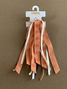 Gymboree Pumpkin Fall Ribbon Hair Tie