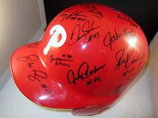1993 Philadelphia Phillies Team Signed Autographed Batting Helmet +COA RARE!