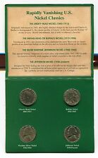 American Nickels of the 20th Century Liberty Head Buffalo and Jefferson Nickels