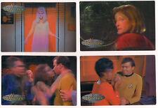 Star Trek 1999 WOMEN OF STAR TREK IN MOTION 32 Card Lenticular Base Set