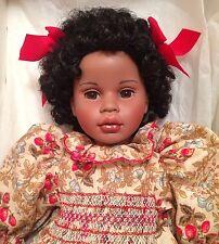 """Pauline Bjonness-Jacobsen """"Rochelle"""" Porcelain Doll Nib Le 249/950 22"""" Coa"""