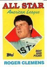 1988 Topps Roger Clemens #394 Baseball Card