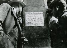 LE CHAGRIN ET LA PITIE MARCEL OPHULS 1969 4 RARES PHOTOS ARGENTIQUE VINTAGE WW2