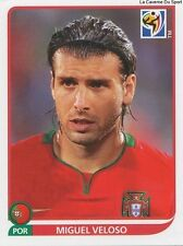 N°555 MIGUEL VELOSO # PORTUGAL STICKER PANINI WORLD CUP SOUTH AFRICA 2010